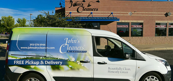 John's Cleaners Pickup and Delivery